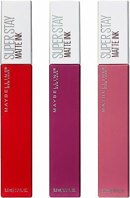 Maybelline Super Stay Matte Ink Lip Stain - Choose Your Shade
