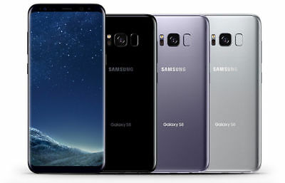 Samsung Galaxy S8 G950U Factory Unlocked Verizon AT&T / T-Mobile - Black, Silver
