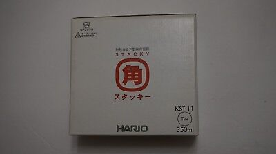 Hario Stacky 350ml KST-11 Glass Ware MADE IN JAPAN