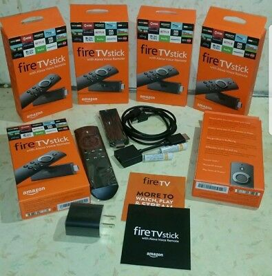 Amazon Fire TV Stick with Alexa Voice Remote 🔓🔓 (2nd Generation)