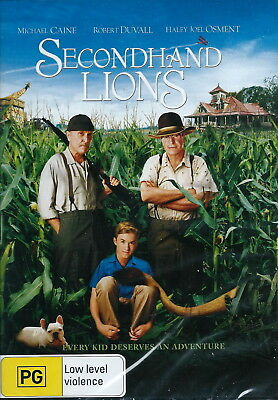 Secondhand Lions - Adventure / Family - Michael Caine, Robert Duvall - NEW DVD