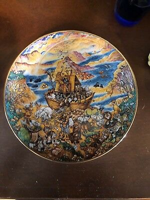 Franklin Mint Two By Two, Bill Bell Religious Series Collector Plate