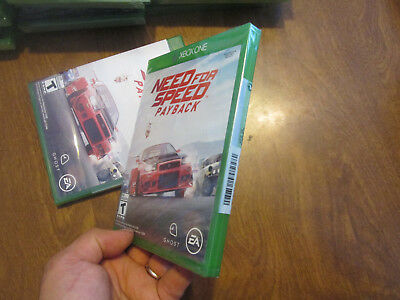 Need for Speed Payback XBOX ONE BRAND NEW FACTORY SEALED US EDITION