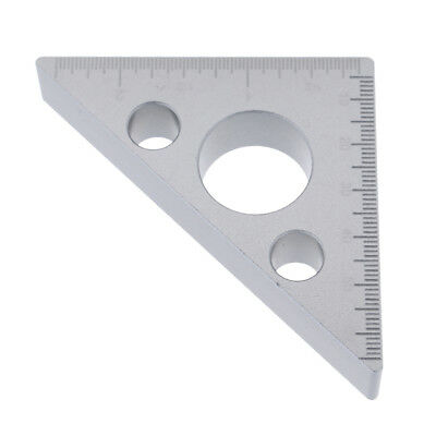 Corner Angle Bracket Plate Connection Joint Strip 3 Holes 45-45-90 Degree