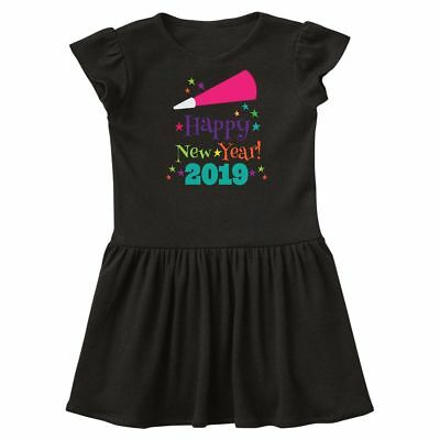18dbfd6d8 Inktastic Happy New Year 2019 Toddler Dress Years Day Celebrate Clothing  Outfit