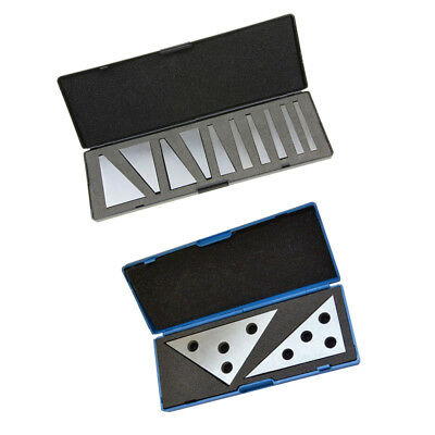 2 Types Angle Block Set 1 to 30 Degree and Angle Plate 30-60-90/45-45-90 CNC