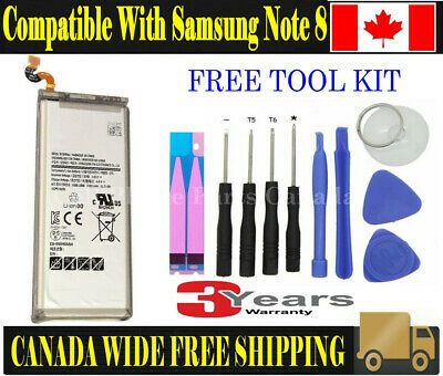 Brand NEW Original OEM Replacement Battery Samsung Galaxy Note 8 with Tools