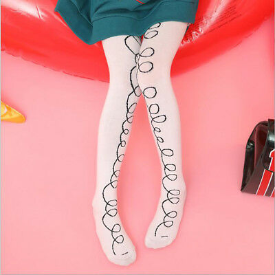 Kids Baby Girls Cotton Pantyhose Tights Toddler Socks Stockings Pants Hosiery LH