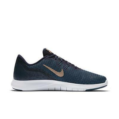 super popular 67c6b 5c2c8 Femmes Nike Flexible Baskets 7 Imprimé Obsidienne Baskets 898481 401