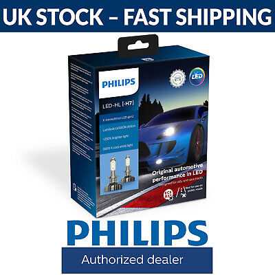 Philips X-tremeUltinon gen2 LED H7 Car Headlight Bulbs (Twin) 11972XUWX2
