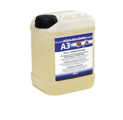 Elma Tec Clean A3 Iron and Metal Cleaner 2,5 Ltr. for the Ultrasonic Bath