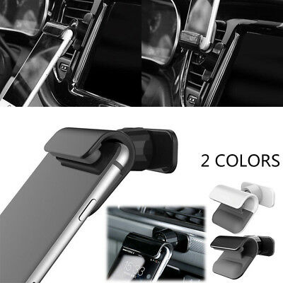 New Interior Gravity Car Phone Holder Stand Mount Stand For IPhone Samsung Black