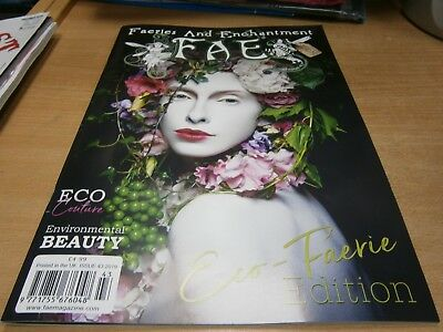 Faeries and Enchantment FAE magazine #43 Autumn 2018 Eco-Faerie Edition. Couture