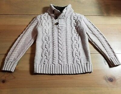 Boys Baby Gap Toddler 5 Years Cream Sweater