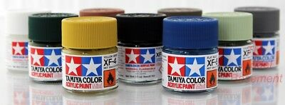 Tamiya mini acrylic paint Flat 10ml XF1-XF86