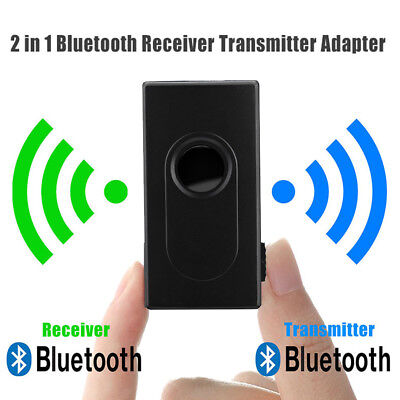 BT V4 Transmitter Receiver Wireless A2DP 3.5mm Stereo Audio Music Adapter Mini