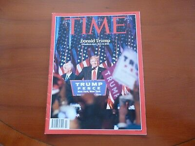 Time Magazine November 21 2016 Donald Trump President-Elect *As Pictures*