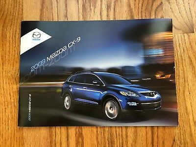 2009 Mazda CX-9 Sales Brochure