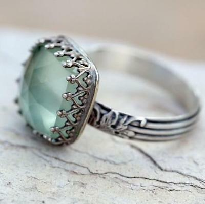 6-10 Ring Wholesale Moonstone Gemstone Size Mint Engagement Wedding