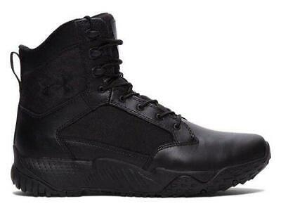 "Under Armour Stellar Tactical 8"" Side Zip Boots All Sizes Black UA-1303129001"