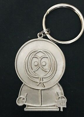 Pewter KENNY South Park Silver Metal Figurine Keychain