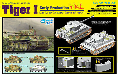 DRAGON 6885 Tiger I Early Production TiKi Das Reich Division (Battle of Kharkov)