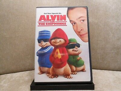 Alvin and the Chipmunks (DVD, 2008) Very Good  #483