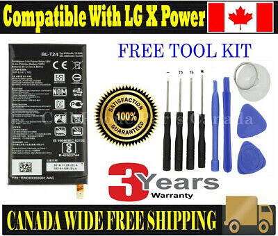 Brand NEW Original OEM Replacement Battery LG X Power with Tools
