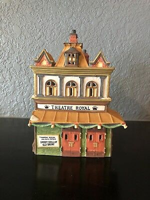 *BARGAIN!!* Dept 56 Dickens Village, Theatre Royal (55840), ANNE RICE Collection