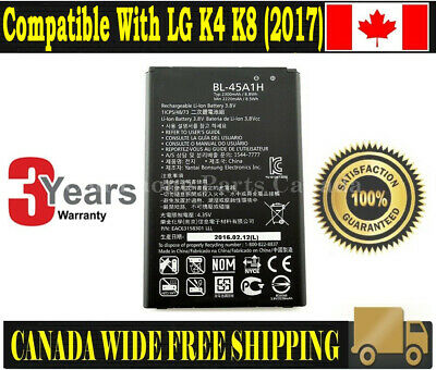 Brand NEW Original OEM Replacement Battery LG K4 K8 (2017)