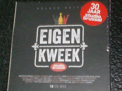 30 JAAR STUDIO BRUSSEL - EIGEN KWEEK (10 CD Deluxe Editie in box set - 2013)