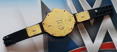 WWE wrestling figure accessory WORLD HEAVYWEIGHT CHAMPIONSHIP TITLE BELT mattel