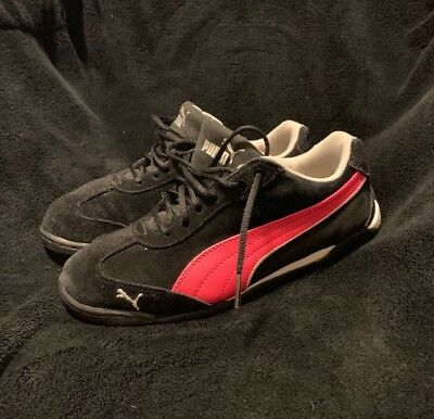 a7d796d99f0fdb Puma 10 Cell Eco Ortholite Running Black Pink Athletic Girls Shoes In A Size  4.5