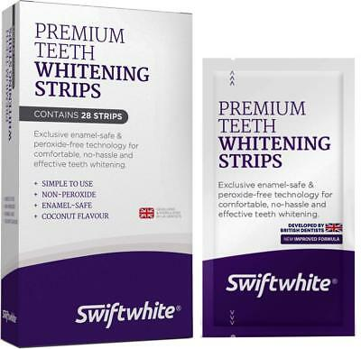 Teeth Whitening Strips, Fast Results No Sensitivity,Peroxide-Free 3D Tooth, Kit