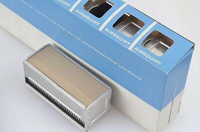 "6 PACK ARGUS AIREQUIPT METAL SLIDE MAGAZINE TRAY HOLDS 36 2 x 2"" 35mm SLIDES"