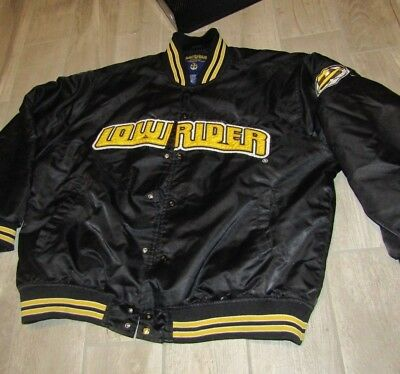 Vintage Low Rider GOLO Chicano Lowrider Satin Jacket