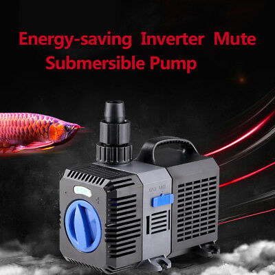 800-1400 GPH Submersible water pump aquarium fish pond Hydroponics 3000-5200 L/H