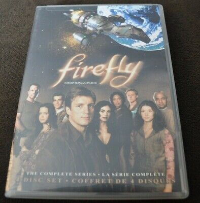 Firefly - The Complete Series 4 DVD set 2009 Region 1 NTSC, Eng/Fr/Span Audio