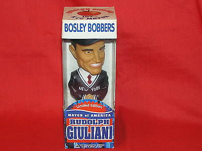 Bobblehead Bobble Nodder Rudy Rudolph Giuliani Mayor Atty Limited Edition 2001