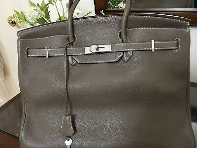 1aafd6c5905a HERMES BIRKIN 40 hand tote bag Togo leather Used very Gentle ...