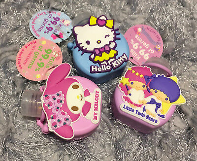 1x Sanrio Hello Kitty Hand Sanitiser My Melody Little Twin Stars Travel Kit Gift