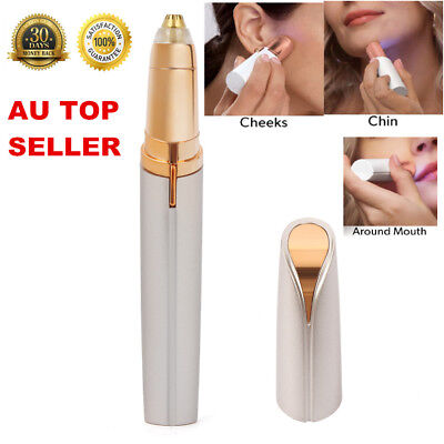 Finishing Touch Flawless Rechargeable Women's Facial Hair Remover for All Skin