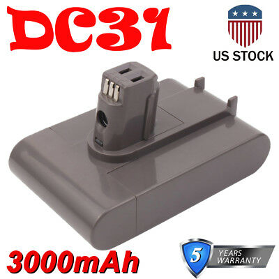 3.0Ah Lithium For Dyson DC31 22.2V Battery DC34 DC35 DC44 Type A Vacuum Cleaner