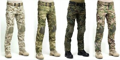 Tactical Military Hunting Camping EDU Combat Pants Gen3 Pants with Knee Pads Hot