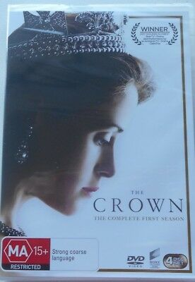 The CROWN : Season 1 :  DVD  4 DISCS.