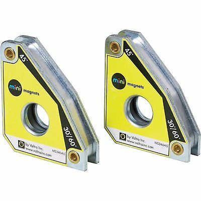 Strong Hand Tools, Welding Mini Magnet Squares MS346AT, Twin Pack