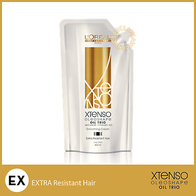 400ML ONLY EX EXTRA RESISTANT HAIR LOREAL X-TENSO MOISTURIST Cream Straight