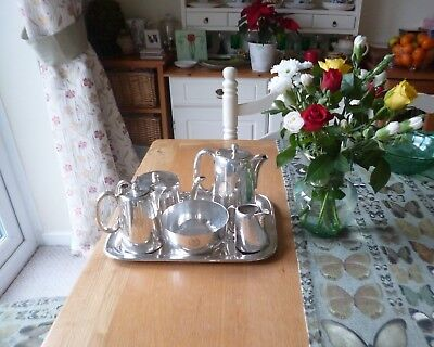 Rare Quality Victorian Chester Silver Plated Tea/Coffee Service-Brown's Chester