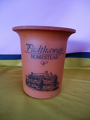 PADTHAWAY HOMESTEAD Large Wine Cooler Clare Valley Pottery Aust Terracotta #24EE