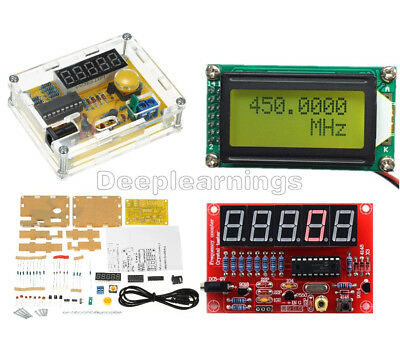 DIY Kits 1MHz-1.1GHz 1Hz-50MHz Crystal Oscillator Tester Frequency Counter Meter